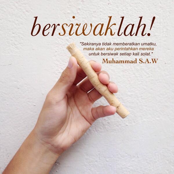 Hukum Dan Cara Bersiwak Dalam Islam Artikel Radio Mutiara Qur An