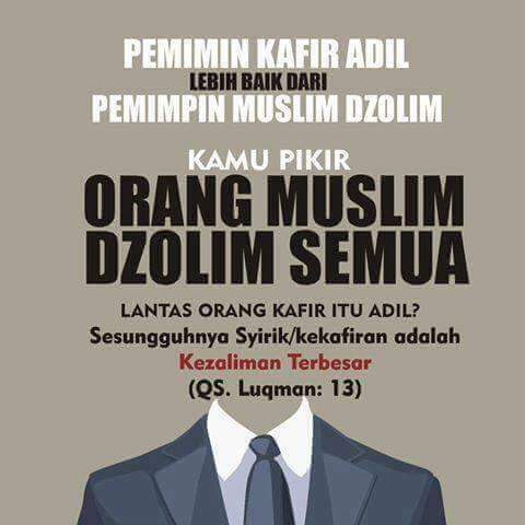 Surat Al Maidah Ayat 51 : Jangan Memilih Pemimpin Non-Muslim