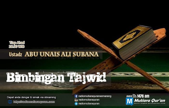 Slider Kajian Live Radio Mutiara Quran - Bimbingan Tajwid Ali Subana copy