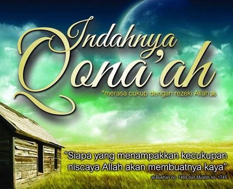 5 Manfaat Qona'ah