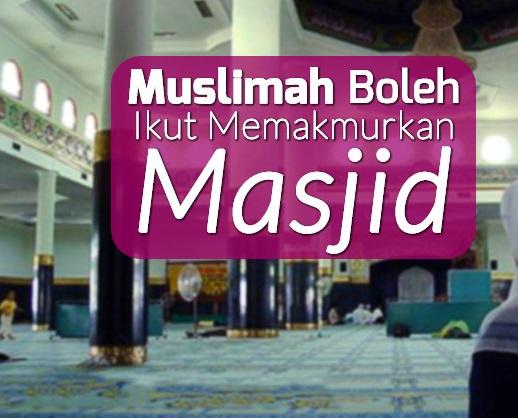 Memakmurkan Masjid adalah Sifat Orang Beriman