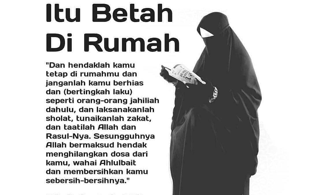 Muslimah di Rumah Tetap Produktif